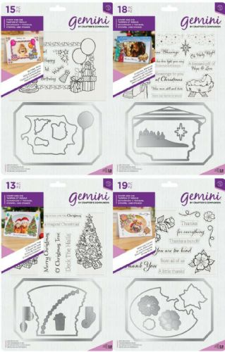 Gemini - Photo Frames Stamp & Die by Crafters Companion